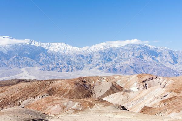 Dood vallei park Californië USA landschap Stockfoto © phbcz