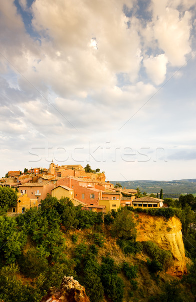 Roussillon, Provence, France Stock photo © phbcz