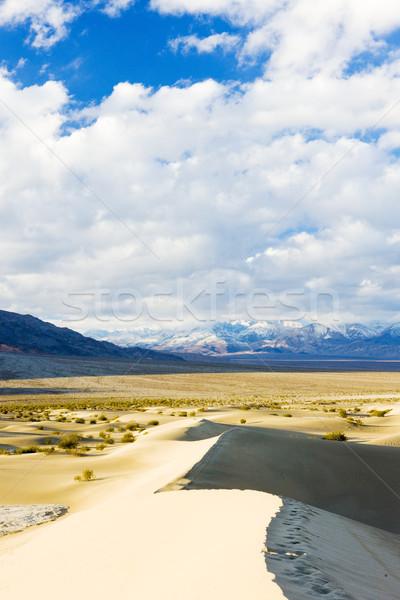 Piasku śmierci dolinie parku California USA Zdjęcia stock © phbcz