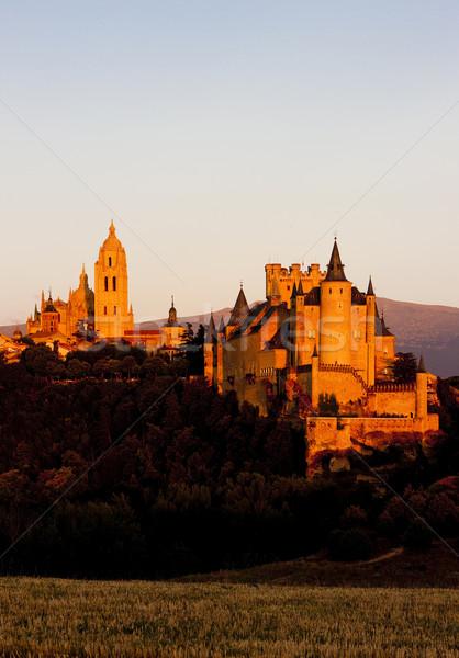 スペイン 建物 アーキテクチャ 歴史 大聖堂 屋外 ストックフォト © phbcz