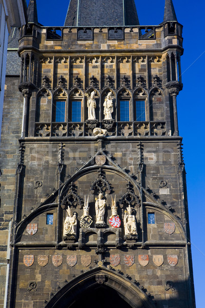 Old Town Bridge Tower, Prague, Czech Republic Stock photo © phbcz