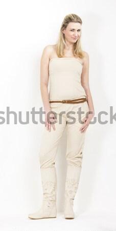立って 女性 着用 夏 服 ブーツ ストックフォト © phbcz