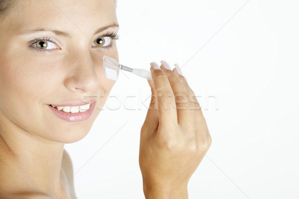 Retrato mujer belleza Foto stock © phbcz