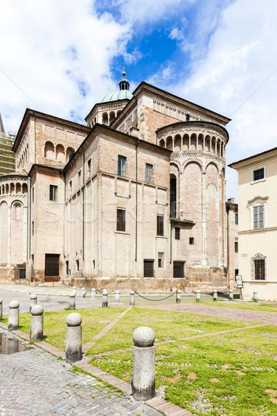 Parma Cathedral, Emilia-Romagna, Italy Stock photo © phbcz