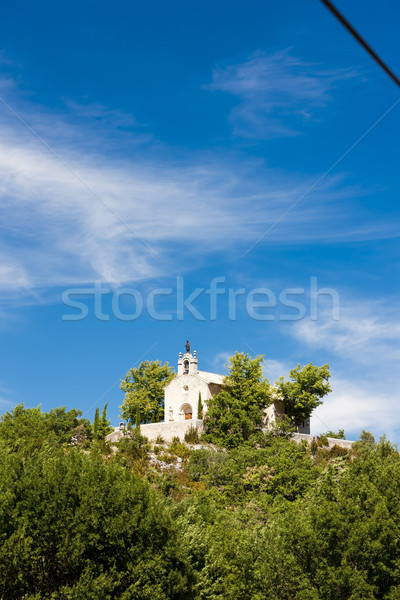 Chapelle Notre-Dame-des-Anges near Banon, Provence, France Stock photo © phbcz