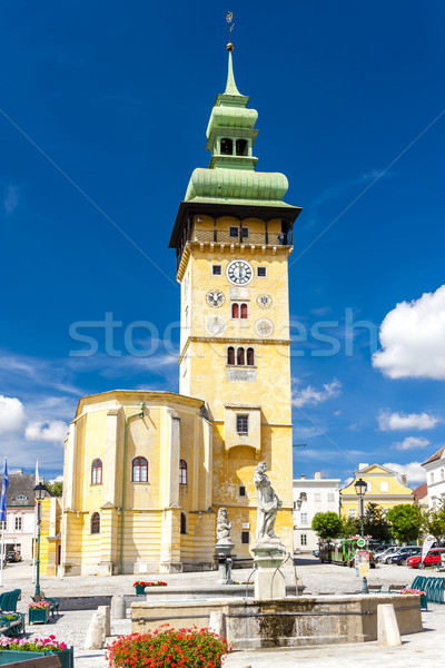town hall in Retz, Lower Austria, Austria Stock photo © phbcz