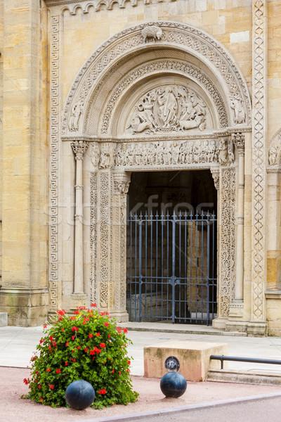 Abdij afdeling Frankrijk gebouw architectuur Europa Stockfoto © phbcz