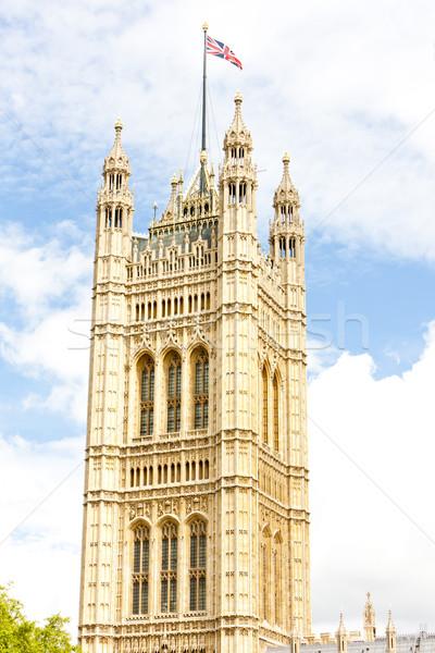 Torre westminster palacio Londres gran bretaña ciudad Foto stock © phbcz