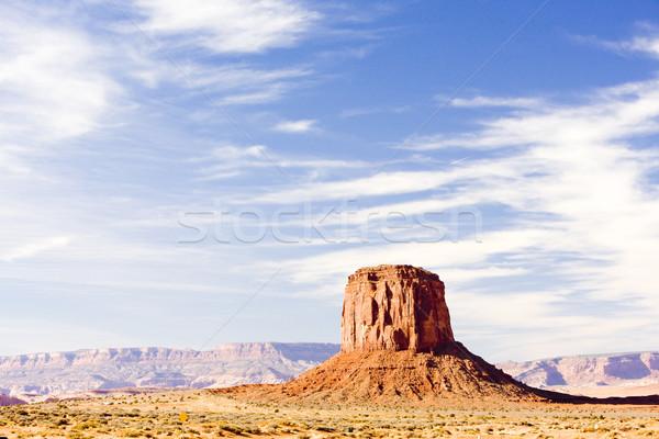 Völgy park USA utazás kő tájképek Stock fotó © phbcz