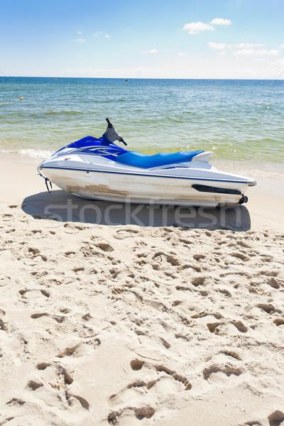 água península Polônia mar férias Foto stock © phbcz