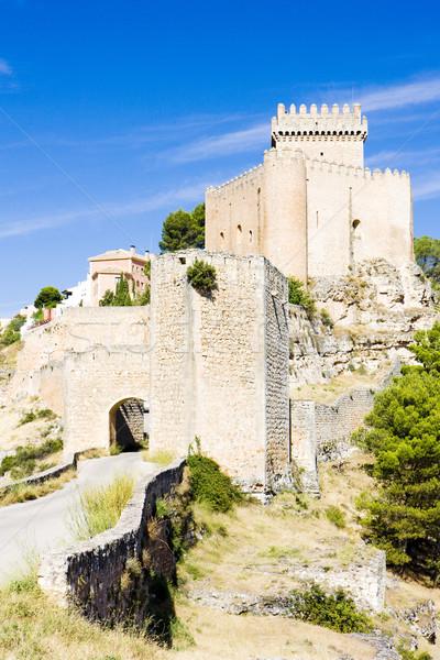 城 スペイン 建物 アーキテクチャ 歴史 ゲート ストックフォト © phbcz