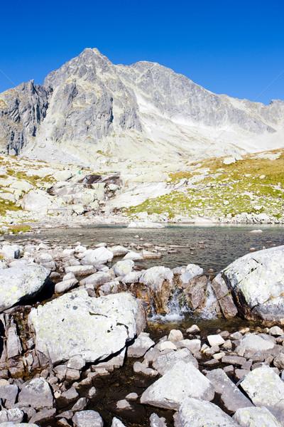 Five Spis Tarns, Vysoke Tatry (High Tatras), Slovakia Stock photo © phbcz