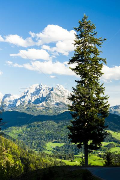 表示 西 オーストリア 風景 旅行 山 ストックフォト © phbcz