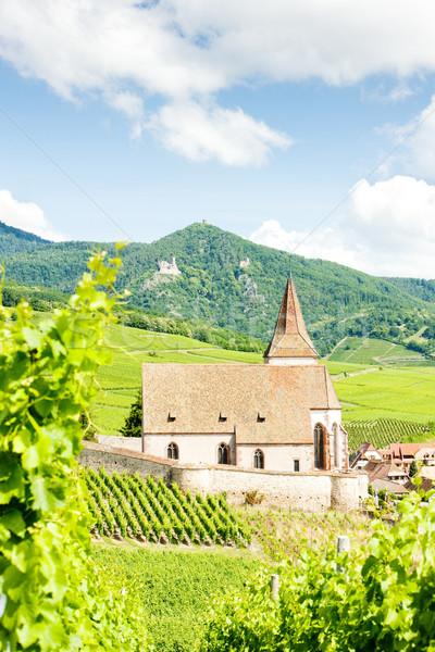 Франция путешествия зданий архитектура история деревне Сток-фото © phbcz
