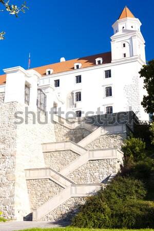Bratislava château Slovaquie bâtiment ville Voyage Photo stock © phbcz