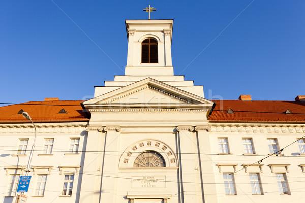 church of Saint Elizabeth and monastery, Bratislava, Slovakia Stock photo © phbcz