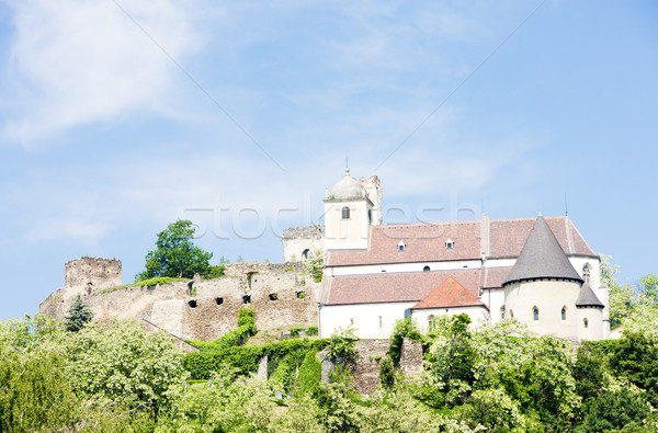 ruins of Gars Castle, Lower Austria, Austria Stock photo © phbcz
