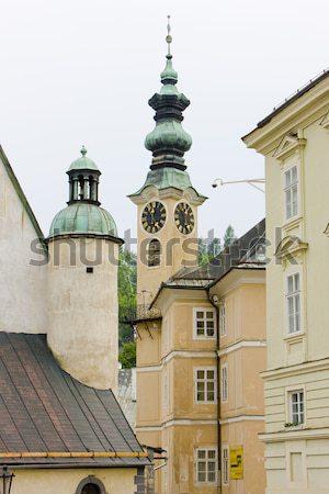 Banska Stiavnica, Slovakia Stock photo © phbcz