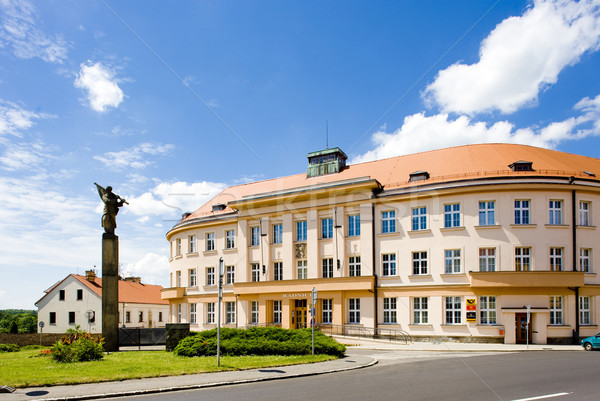 town hall, Nove Mesto nad Metuji, Czech Republic Stock photo © phbcz