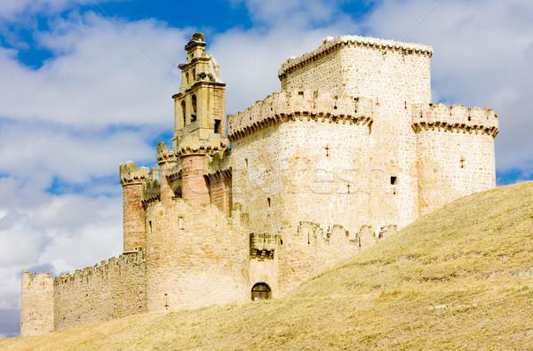 Stock photo: Turegano Castle, Segovia Province, Castile and Leon, Spain