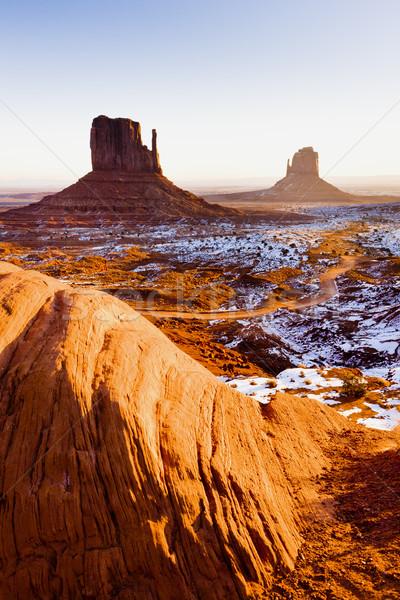 The Mittens, Monument Valley National Park, Utah-Arizona, USA Stock photo © phbcz
