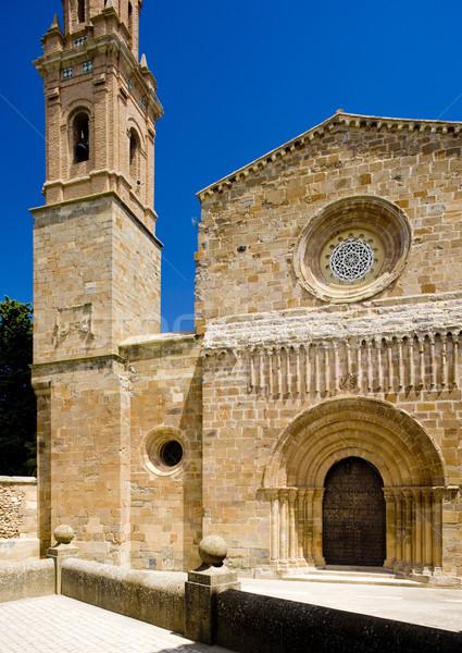Monastery of Veruela, Zaragoza Province, Aragon, Spain Stock photo © phbcz