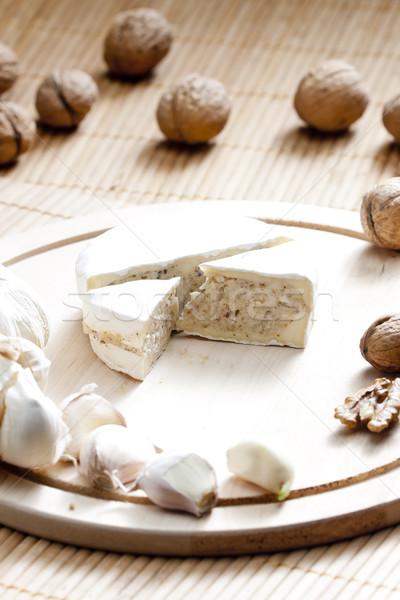 сыра смесь рубленый питание внутри Сток-фото © phbcz