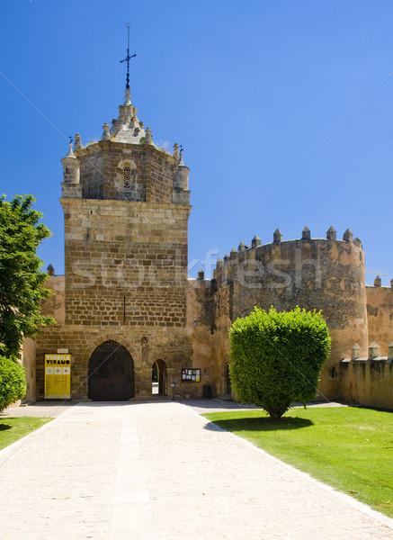 Mosteiro Espanha edifício arquitetura história ao ar livre Foto stock © phbcz
