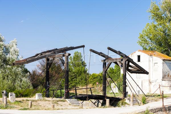 Vincent van Gogh bridge near Arles, Provence, France Stock photo © phbcz
