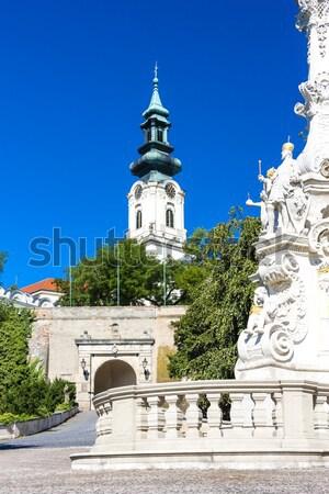 Pałac Czechy domu budynku miasta podróży Zdjęcia stock © phbcz