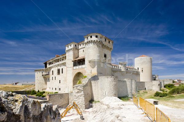 Cuellar Castle, Segovia Province, Castile and Leon, Spain Stock photo © phbcz