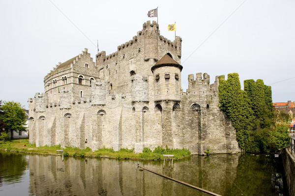 castle, Gravensteen, Ghent, Flanders, Belgium Stock photo © phbcz