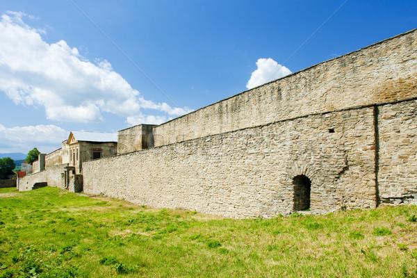 Ciudad fortificación Eslovaquia ciudad historia aire libre Foto stock © phbcz