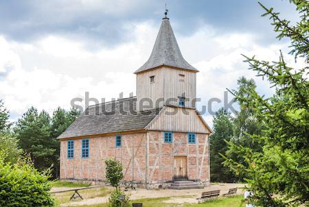 Santo ortodossa chiesa costruzione viaggio storia Foto d'archivio © phbcz