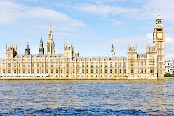 Domów parlament Big Ben Londyn wielka brytania miasta Zdjęcia stock © phbcz
