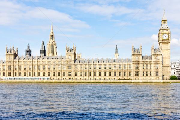 Häuser Parlament Big Ben London Großbritannien Stadt Stock foto © phbcz
