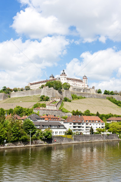 Marienberg Fortress, Wurzburg, Bavaria, Germany Stock photo © phbcz