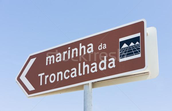 marina in Troncalhada, Beira, Portugal Stock photo © phbcz