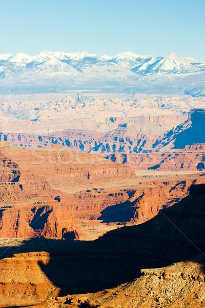 Parku Utah USA charakter góry skał Zdjęcia stock © phbcz