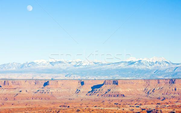 Parku Utah USA krajobraz skał Ameryki Zdjęcia stock © phbcz