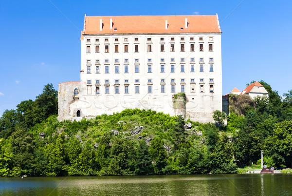 宮殿 チェコ共和国 建物 アーキテクチャ ヨーロッパ 歴史 ストックフォト © phbcz