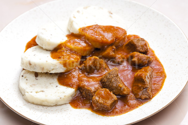 beef goulash Stock photo © phbcz