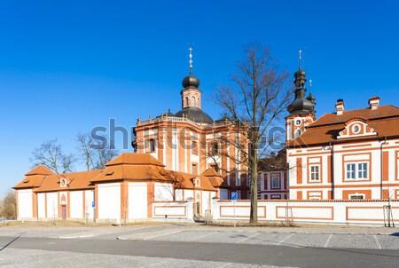 Çek Cumhuriyeti kilise mimari Avrupa açık havada Stok fotoğraf © phbcz