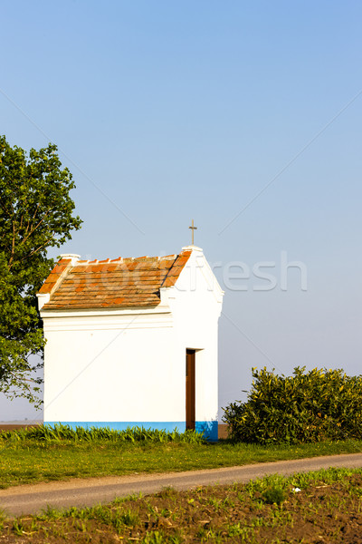 chapel near Stary Poddvorov, Czech Republic Stock photo © phbcz