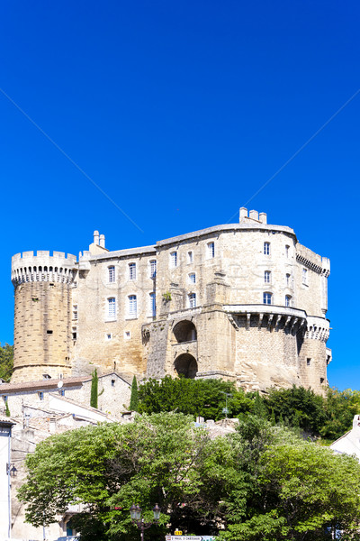 Afdeling Frankrijk reizen kasteel architectuur Europa Stockfoto © phbcz