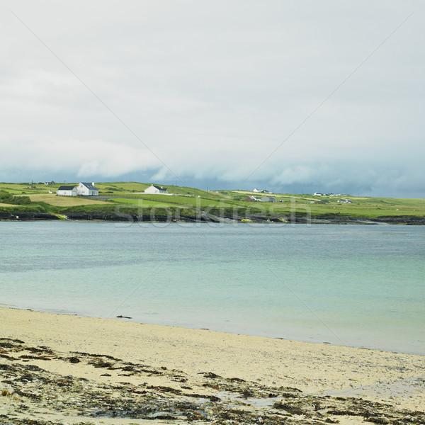 Foto stock: Punto · Irlanda · mar · viaje · paisajes · playas