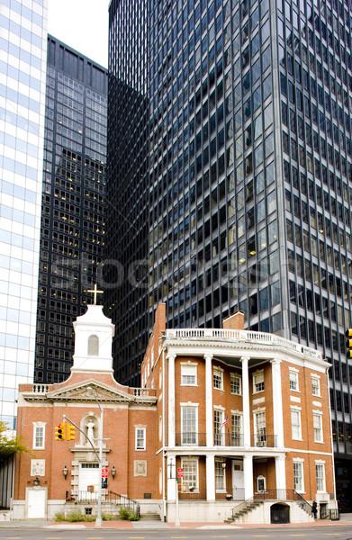 Shrine of Saint Elizabeth Ann Seton, Manhattan, New York City, U Stock photo © phbcz