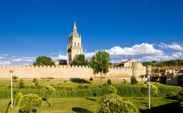 El Burgo de Osma, Soria Province, Castile and Leon, Spain Stock photo © phbcz
