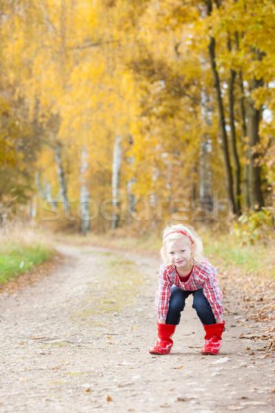 Little girl beco menina Foto stock © phbcz