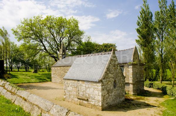 Capilla edificio iglesia arquitectura historia aire libre Foto stock © phbcz